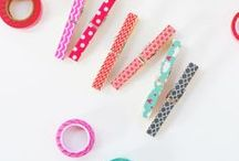 DIY Washi Tape / DIY Projects that include washi tape.