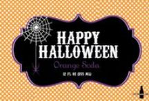 CSL - Halloween Soda Gallery / Halloween is all about creativity from costumes to house decorations.  Make your Halloween party come alive with a personalized bottle of delicious soda or water.  Here's our ideas but you can make your own.  Just ask.