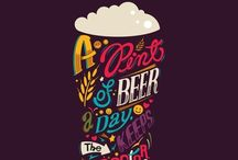 """Beer and Booze / """"After the first glass of vodka you can accept just about anything of life even your own mysteriousness...""""       ~ Frank O'Hara"""