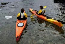 Paddling / Nothing like the adventure and calming of being in a kayak alongside my most favourite people...