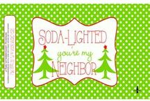CSL - Christmas Soda Gallery / Merry Christmas and Happy New Year.
