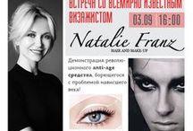 Natalie Franz / Natalie Franz la Make Up Artist di Lady Gaga e di Karl Lagerfeld  crea MAGICSTRIPES