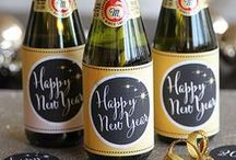 New Year's Eve Labels / New Year's Eve Inspiration from across the web