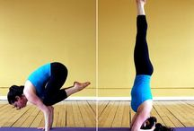 Acrobatics - Floor inversions / Headstands, shoulder stands, chest stands
