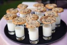 Wedding Party Food / It's not a party without the food. We hope you're inspired by our collection of delectable eats perfect for a wedding dinner and reception.