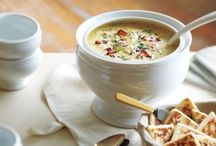 """Soups, Broth, Bisques and Chowders / """"I am the broth of love.  Make soup to me.""""     ~ Jarod Kintz"""