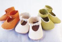 Filcowe buciki - BABY SHOES