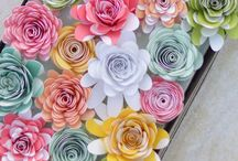 Paper Flowers and other pretties / Ideas for Decorating for Parties and a Change of Scene