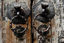 """Knock Knock / """"I feel very adventurous. There are so many doors to be opened, and  I'm not afraid to look behind them.""""                       ~ Elizabeth Taylor"""