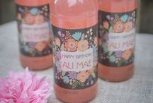 CSL - Girl's Birthday Party Ideas / Designs for a birthday party fit for your little princess.