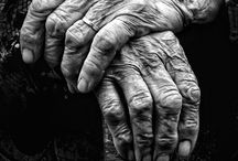 """Hands / """"The beginning and the end reach out their hands to each other...""""       ~ Chinese proverb"""