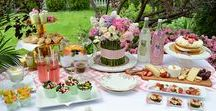 Mother's Day Brunch Tablescape / Need some inspiration for a Mother's Day Brunch?  Take a peek at a recent photo shoot from our friend Rosemary Thyme Blog!!