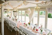 Decorative Touches @ The Millhouse / Some of the decorative touches we have seen at our weddings