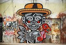 grafitti street art