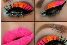 Makeup / Beautyful and arty makeup that inspirer me