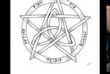 Wicca tattoo