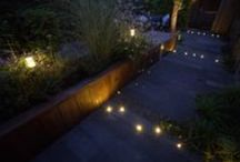 in-lite Ground Lights / Ground lights are installed, for example, in paving, wood or gravel. During the day they completely blend into their surroundings, but in the evening they will surprise you with the special effect they create.