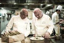 CHEFS / Chefs du restaurant gastronomique - Michel Rochedy et Stéphane Buron - Grands Chef Relais et Châteaux