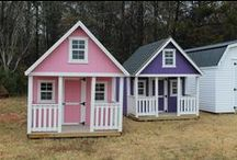 Playhouses / You are going to fall in LOVE with Sheds Direct's playhouse line! Choose from a wide variety of colors and styles!