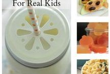 Healthy Eating Ideas for Kids / Kid's Nutrition, healthy snacks for kids, battle child obesity, healthy kids, family meals