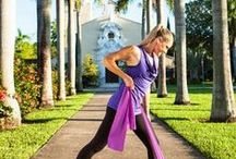 Resistance Bands Workouts / Body weight workouts, best workouts ever, travel workouts