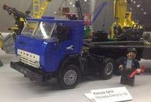 Lego pojazdy / Wystawa klocków Lego, Katowice, Galeria Katowicka, 15.03.2015 r.