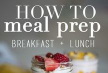 Meal Prep / food prep, easy meals, fast and healthy dinners, fast and healthy lunches, healthy breakfasts,