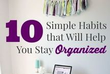 Organizing! / Do you love to keep things organized? Follow this board! www.covermadebedding.com