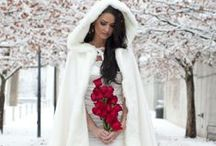 Winter wedding ideas / Find ideas for your winter wedding! Winter wedding dresses, decor for a wedding reception and ceremony during the winter season and so much more! Inspirational ideas for a wedding during those cold winter months!