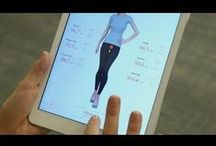 LikeAGlove Videos / LikeAGlove Smart Fit technology uses sensors within our garments to measure your figure in seconds. These measurements are then matched up with our database of brand name clothing to find you clothes that fit perfectly.