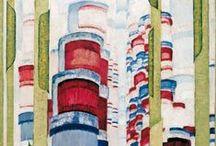 kupka / フランティセック・クプカまたはフランチシェク・クプカは、20世紀の画家。抽象絵画・非具象絵画の最初期の作家の1人。