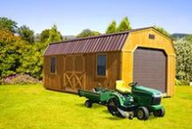 Lofted Barns / Check out our wide variety of lofted barns offered by Sheds Direct!  For a complete line up, visit www.shedsdirectinc.com