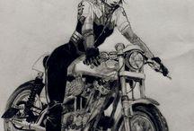 I will ride a bike