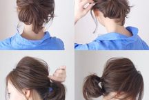 Simple hair style / #doodle #anime #qoutes #cute