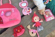 Toys / Juguetes para bebés y niños inquietos