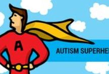 Mighty League Kids / Here's to the kids (big and little) with superhero imaginations! Do you have an autism superhero? We'll feature them on our blog!