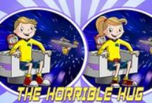 Autistic Hero Comics / Interactive autistic hero comics that entertain while teaching kids about autism, bullying, friendship and acceptance. More at www.geekclubbooks.com