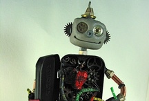 """Robot Mania / """"take us to your leader"""" love! #robots"""