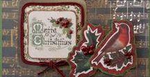HappyHolidays / handmade seasonal cards