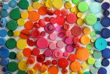 School couleurs et bouchons