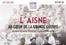 Brochures et guides 14-18 dans l'Aisne / Un panel de brochures et guides sur la Grande Guerre dans l'Aisne sont disponibles en téléchargement et sur demande auprès des Offices de Tourisme de l'Aisne ou de l'Agence de Développement et de Réservation Touristiques de l'Aisne (accueil@aisne-tourisme.com/ Tél. 03.23.27.76.76).