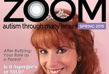 Zoom Autism Magazine / Welcome to ZOOM - Autism through many lenses, the digital magazine whose mission is to inspire, answer questions, ease minds, focus on positive solutions and recognize autistic individuals and the family members who support them on their journeys. Our content is respectful to the autistic community, realistic, hopeful and zooms in on every milestone, every accomplishment, for none are too small or insignificant.