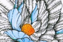 My art / #art #handmade #illustration #tattoo #sketch #ink