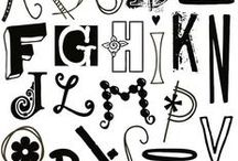 Fonts / All the wonderful fonts to use for branding, crafts or graphics