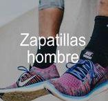 Zapatillas HOMBRE running & fitness / Zapatillas de HOMBRE para fitness & running. Ligereza, comodidad y amortiguación en tus pies.