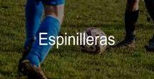 Espinilleras de fútbol / Espinilleras de fútbol diseñadas para ofrecer una protección ligera pero resistente contra los impactos durante el juego.