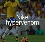 Botas fútbol NIKE HYPERVENOM / Nike Hypervenom, las botas de fútbol para terreno firme. Proporcionan una agilidad inigualable en campos de hierba corta gracias a una tracción óptima y a un ajuste anatómico que sujeta el pie.