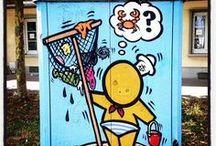 Urban Art, Street Art & Gouzous !!! / LH, une ville où règnent art urbain, art contemporain et tant d'autres que nous vous invitons à découvrir !