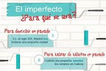 Learn Spanish Grammar / A good pinboard to learn Spanish grammar. Do you need extra help? We suggest you try our online Spanish lessons using Skype. High quality classes with expert native teachers.