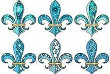 Fleur De Lis - a beautiful symbol shape ⚜ / Fleur De Lis - a beautiful symbol shape ⚜ / by Cajun Fire